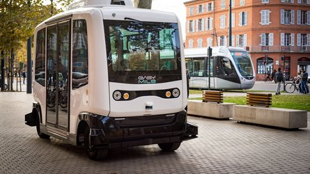 Autonomes Bus-Shuttle