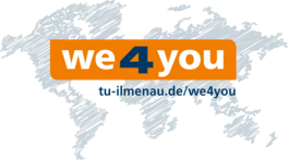 Das Logo von we4you